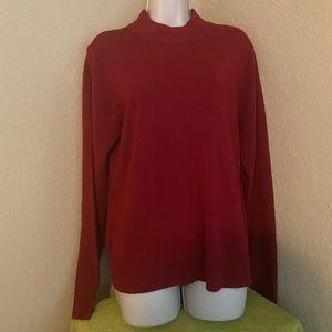 Red long sleeves